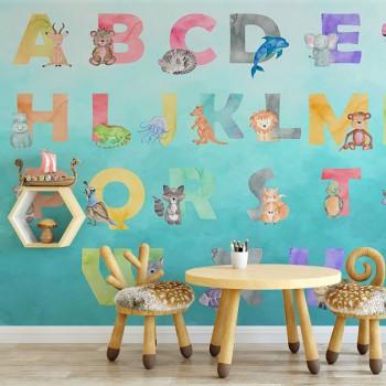 پوستر دیواری کودک حروف...
