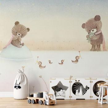 پوستر دیواری کودک برکه ی مهربانی مدل BKW133-1
