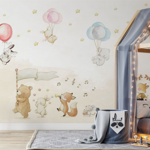 پوستر دیواری کودک جشن پیروزی مدل BKW163-1