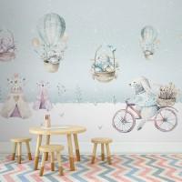 پوستر دیواری کودک روز بازی مدل BKW138-3
