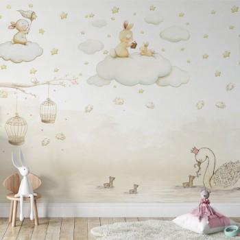 پوستر دیواری کودک کلاس نقاشی مدل BKW169-1