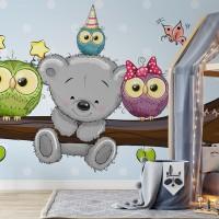 پوستر دیواری کودک شاخه قصه ها مدل BKW040-3