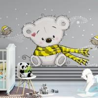 پوستر دیواری کودک خرس مهربان مدل BKW020-1