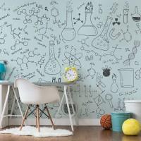 پوستر دیواری کودک شیمی در آینده مدل BKW105-1