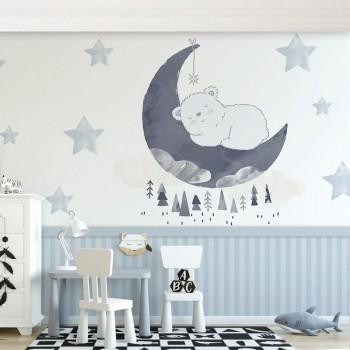 پوستر دیواری کودک خرس...