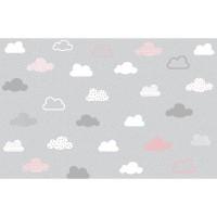 پوستر دیواری کودک ابر های آسمان مدل BKW021-2