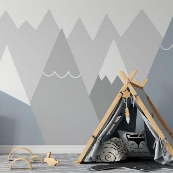 پوستر دیواری کودک کوهستان سرد مدل BKW181-1
