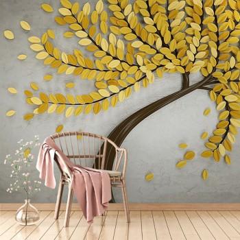 پوستر سه بعدی درخت پاییزی مدل BCW036-1