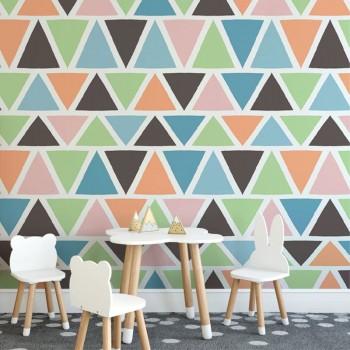 پوستر دیواری کودک مثلثی مدل BKW192-1