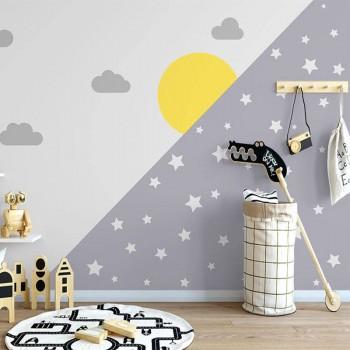 پوستر دیواری کودک شب و روز مدل BKW200-1