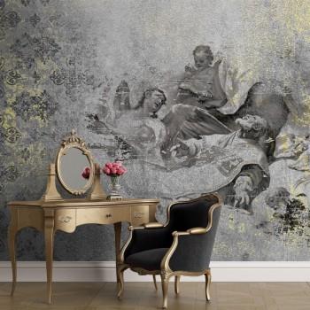 پوستر دیواری فرشته های بهشتی مدل BCW668-1