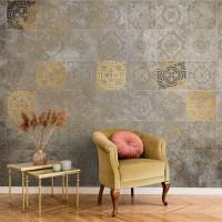 پوستر دیواری کاشی های زرین مدل BCW689-1