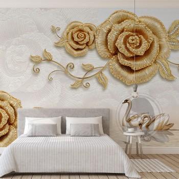 پوستر دیواری گل رز تزیینی...