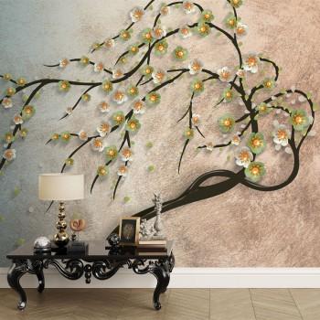پوستر سه بعدی شاخه های افشان مدل BCW160-1