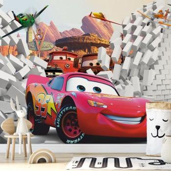 پوستر دیواری کودک انیمیشن ماشین ها مدل BKW204-1