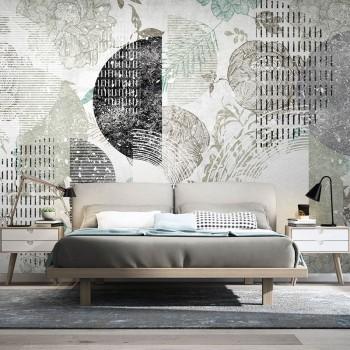 پوستر دیواری ردی از گلبرگ ها مدل BCW326-1