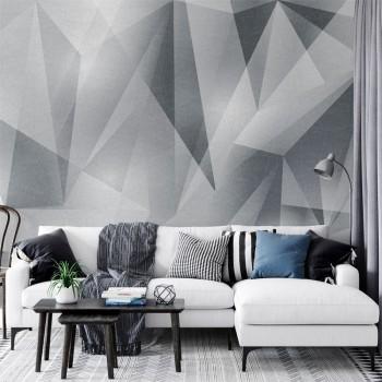 پوستر دیواری مثلث های شیشه ای مدل BCW290-1