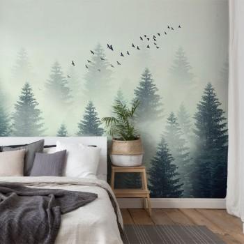 پوستر دیواری جنگل سرو مدل BCW321-1