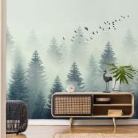 پوستر دیواری جنگل سرو مدل BCW321-3
