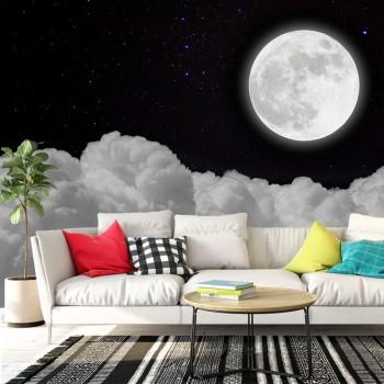 پوستر دیواری آسمان مهتابی مدل BCW340-1