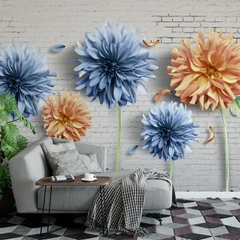 پوستر سه بعدی گلهای برافراشته مدل BCW089-1