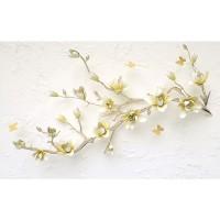 پوستر سه بعدی شاخه ای پر از شکوفه مدل BCW259-2