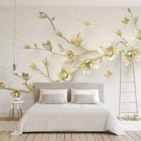 پوستر سه بعدی شاخه ای پر از شکوفه مدل BCW259-3