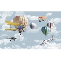 پوستر دیواری کودک آسمان هیجان انگیز مدل BKW002-2