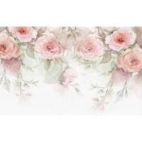 پوستر دیواری گل های رُز آبرنگی مدل BCW404-2