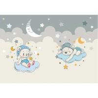 پوستر دیواری کودک خرس های خوابالو مدل BKW008-2