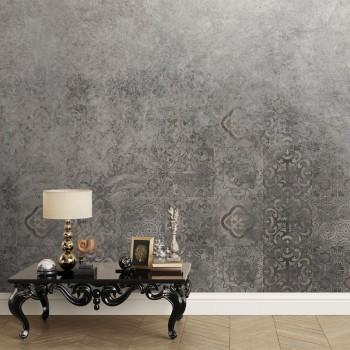 پوستر دیواری کاشی های خاکستری پنهان مدل BCW772-1