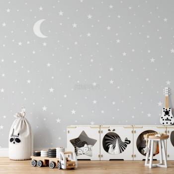 پوستر دیواری کودک آسمان شب مدل BKW216-1