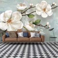 پوستر سه بعدی شکوفه ی گیلاس مدل BCW005-3