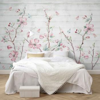 پوستر دیواری رقص شکوفه ها مدل BCW534-1