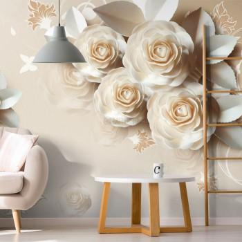 پوستر سه بعدی گل های کاغذی BCW147-1