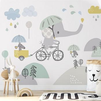 پوستر دیواری کودک سرزمین رویاها مدل BKW017-1