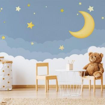 پوستر دیواری کودک شب رویایی مدل BKW012-1