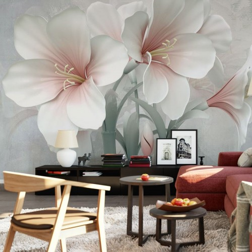 پوستر سه بعدی آواز گل ها مدل BCW012-1