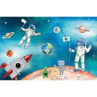 پوستر دیواری کودک آدم فضایی مدل BKW178-2