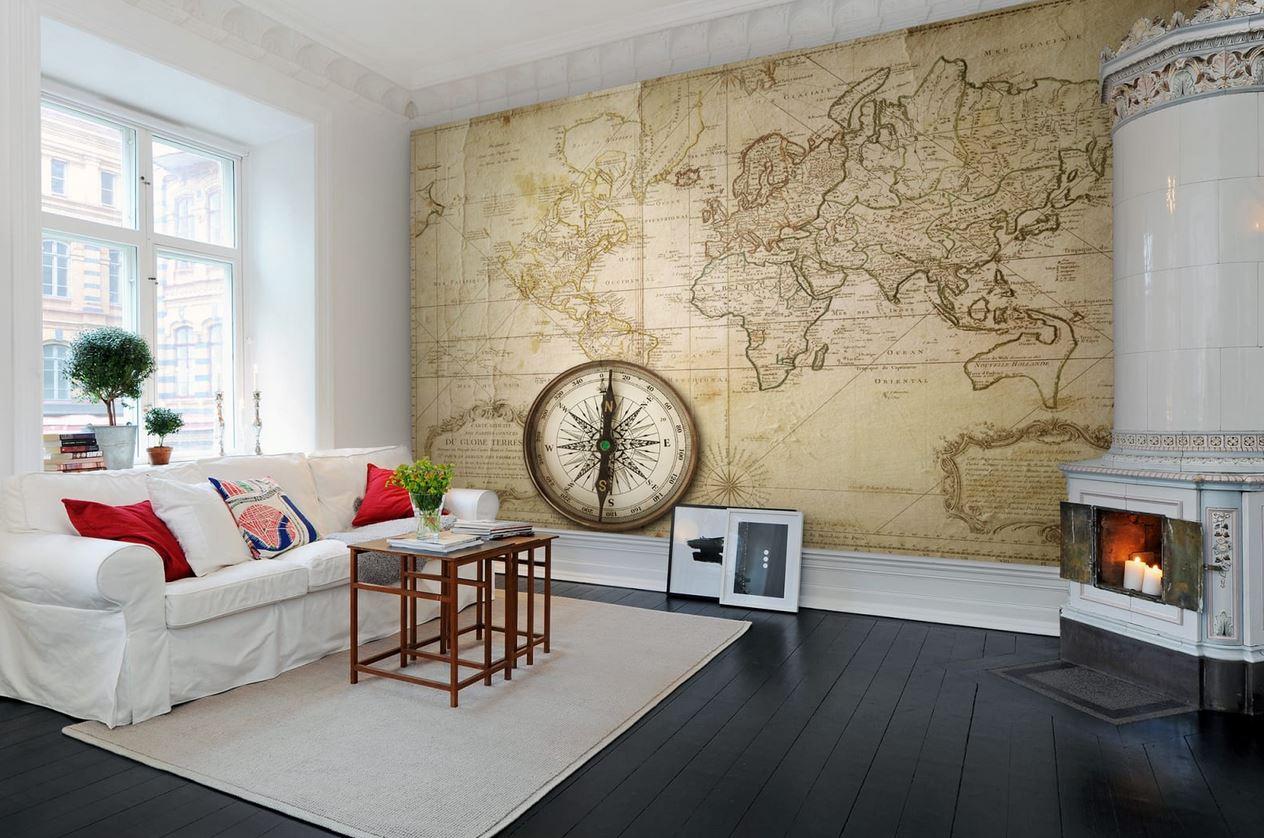 پوستر نقشه وینتیج